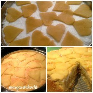 Apfel-Baiser-Torte