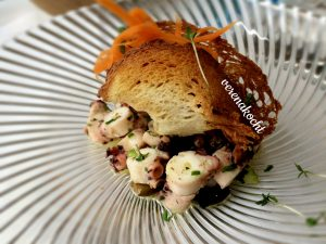 Oktopus-Salat
