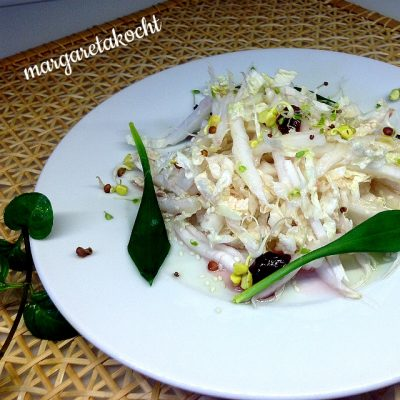 spritziger Chinakohlsalat (oder) Chinakohl – einmal anders mariniert