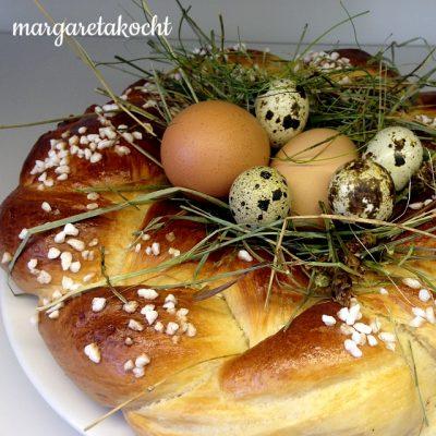 köstlich einfaches Osternest (oder) das Schicksal der eigenen Worte