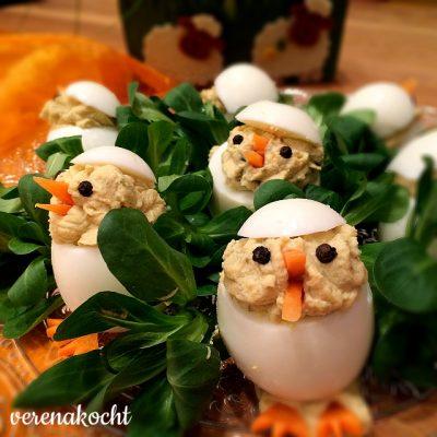 gefüllte (Oster)Eier (oder) Zero Waste trotz üppiger Osterbräuche