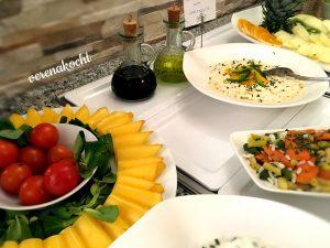 Käse & Gemüse Ei-Salat Reis-Gemüse-Salat
