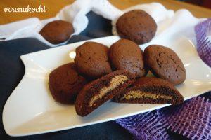schokoladige Erdnussbutter Cookies