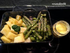 Spargel - Kartoffeln - Bärlauchpesto