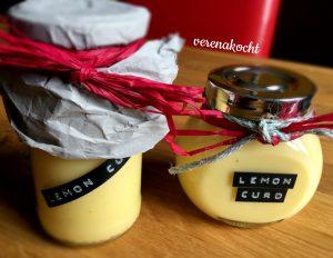 Lemon Curd (Zitronenaufstrich)