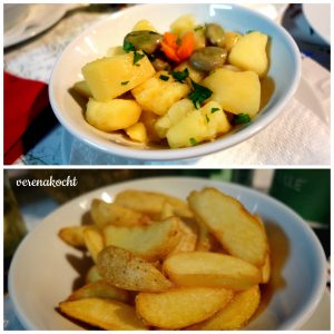Salzkartoffeln & Bratkartoffeln
