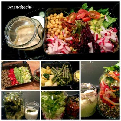 1 Woche ist 7 Tage Lunch-2-Go (oder) 7x gesund durch den Tag