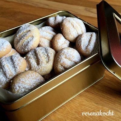 schnelle Zitronen-Butter-Kekse (oder) ein schnelles Geschenk aus dem Zaubertopf