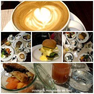 Frühstück im Hotel Titanic