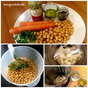 Zutaten & Zubereitung Humus