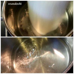 Zucker einkochen