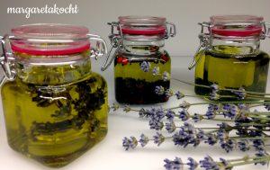 home-made Kräuter-Öl