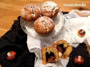 Muffins mit Eierlikör & Mozartkugel