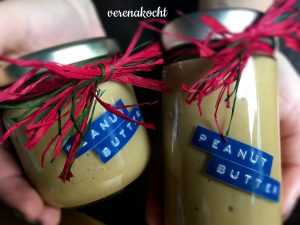 home-made Erdnussbutter