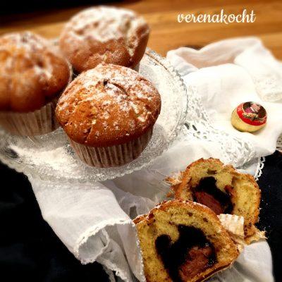 Überraschungs-Muffins mit Eierlikör & Mozartkugeln (oder) Start der Ferien-Back-Phase