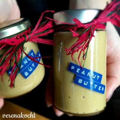 home-made Erdnussbutter (oder) Tick-Tack – Vogerl ausgeflogen