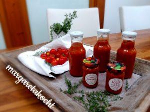 Tomaten Sauce mit Thymian