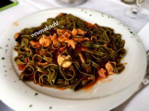 grüne Fettuccine mit Shrimps - Bea liebt sie!