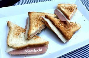 Schinken-Käse-Toast