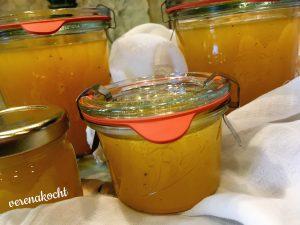 Mandarinen Rum Gelee