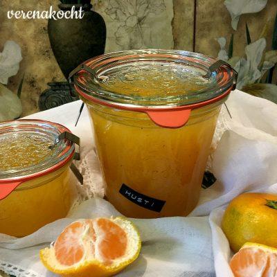 Mandarinen Rum Gelee (oder) Beas Geburtstag & Veränderungen