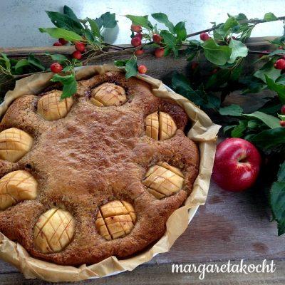 Apfel-Marzipan-Kuchen (und) demnächst => Foodtour inbegriffen