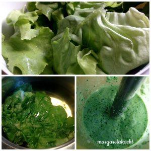 Zubereitung Salat-Creme