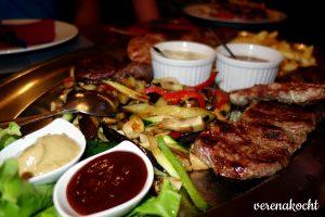 Steakplatte