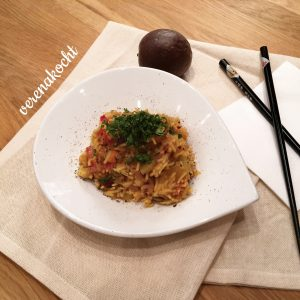 Gemüse Pilaw mit Reis