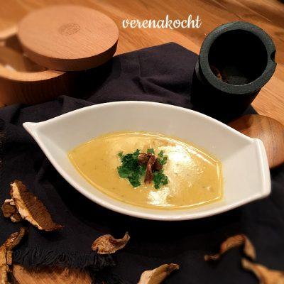 Suppe vom getrockneten Steinpilz und Kartoffeln (oder) Last Christmas bändigt das Mutter-Tier in mir!