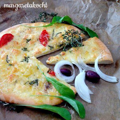 Klassische Pizza Margherita (oder) das geht gaaar nicht!