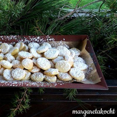 süße Apfelessig-Krapferln (oder) Wollt ihr Frau Kilians Kuchen?