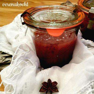 feurig scharfe Apfel Zwiebel Marmelade (und) mehr Speicher heißt keine Fotos – oder wie?!