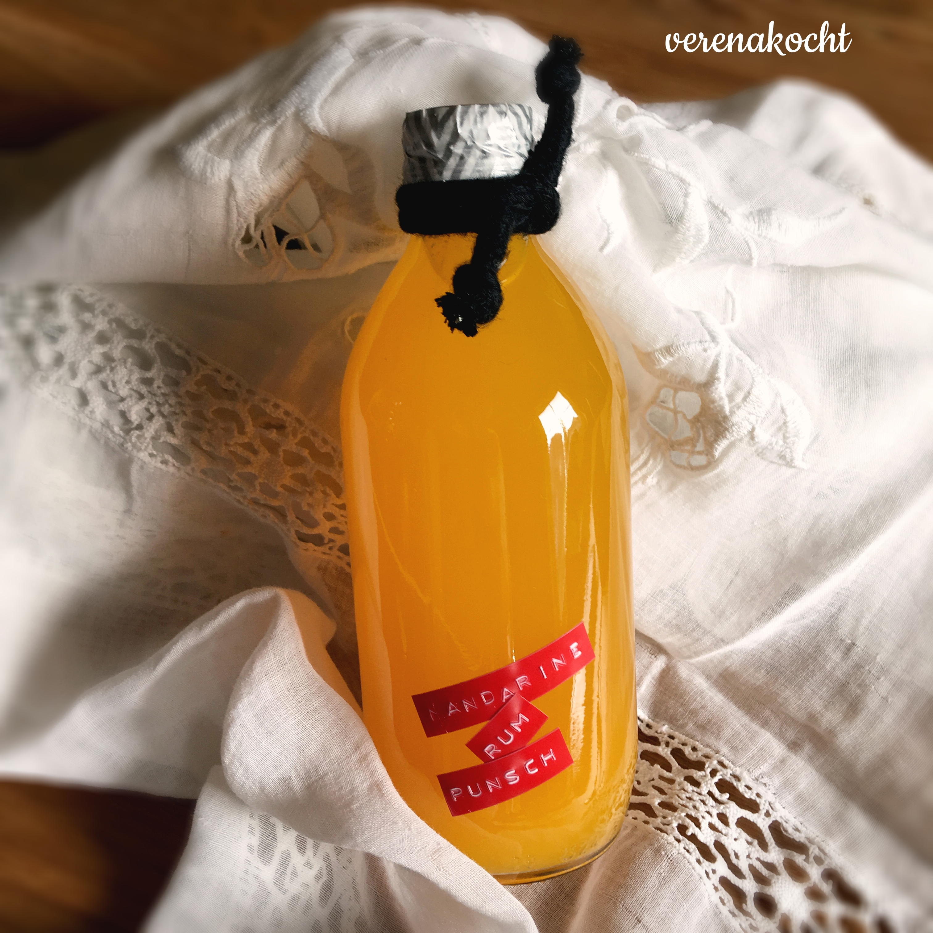 weihnachtlicher Mandarinen Punsch Likör (oder) Punsch am ...