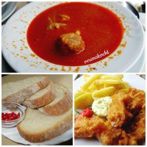 Budapest Fisch-Bistro - Fischsuppe und Fish & Chips