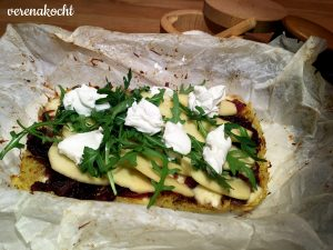 Kartoffel-Rösti-Pizza