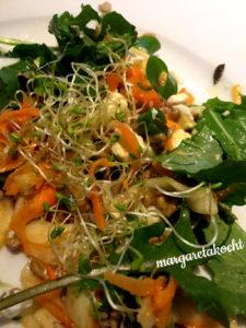 sommerlicher Karotten-Feta-Salat