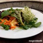 leichter Sommer-Salat mit Karotten & Feta