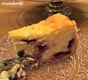 Topfen Heidelbeeer Torte