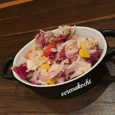 super schneller Reis-Thunfisch-Salat (und) Eine Woche #auszeit!