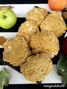 gesunde Apfel Cookies