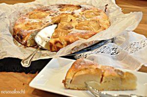 Apfel Topfen Kuchen
