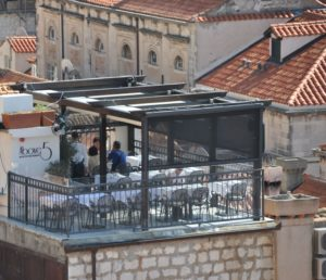 Above5 Rooftop Restaurant, Dubrovnik