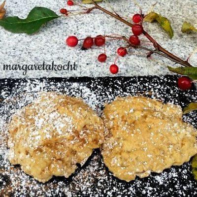 gesunde Apfel Cookies (und) der gesunde Snack für Zwischendurch