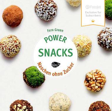 // BUCHBESPRECHUNG //  Power Snacks – Naschen ohne Zucker by Fern GREEN