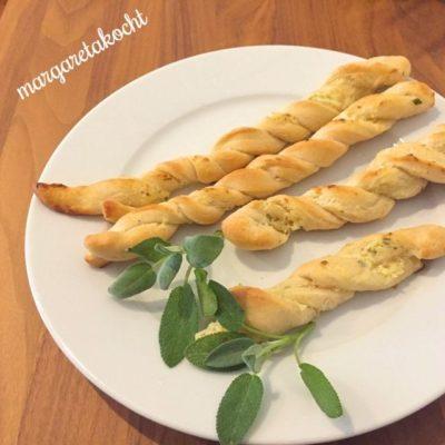 Margaretas home-made Pizzastangerln (und) Carpe Diem!