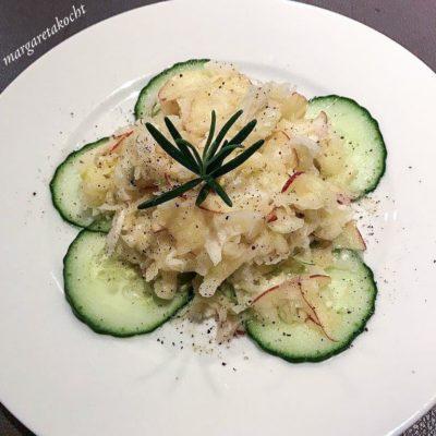 gesunder Apfel Fenchel Salat (und) Please take me back to Mailand!