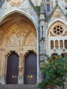 Kathedrale in Sóller