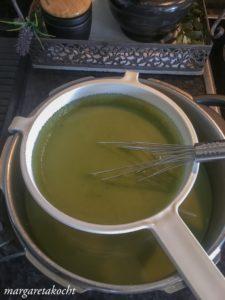 Schnittlauch Kartoffel Suppe