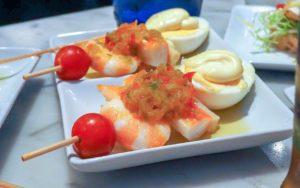 Tomate - Garnele - Ei - Salsa